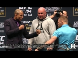 Обмен взглядами UFC 194 Альдо VS Макгрегор