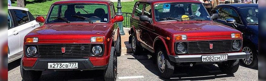 В Монако на выставке предметов роскоши показали Lada 4×4