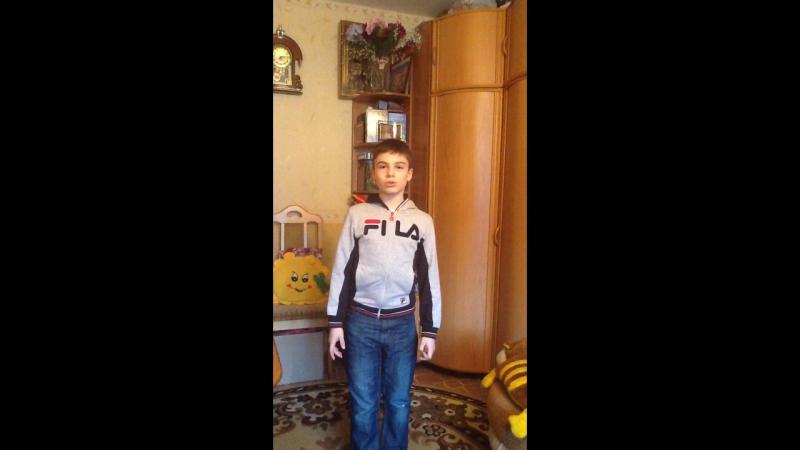 Артем Шихалиев читает стихотворение Б Заходера Мы друзья