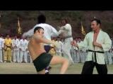 Александр Пистолетов - Уроки по каратэ, удары ногами с озвучкой ударов