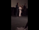 One more video of Kristen, Nic, Drake and Jackie Weaver inside the theater 2