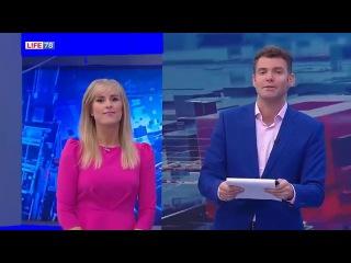Илья Капитан (Sky-Star) на телеканале Life 78 Учимся трюкам   баскетбольного фристайла