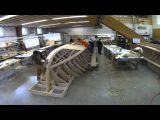 Building of a Cold-Molded 22ft Center Console