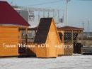 Туалет Избушка в блок хаусе 15,900 руб. Дома, Бани, Бытовки в СПб