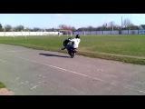 Stunt (Suzuki Let's 2)