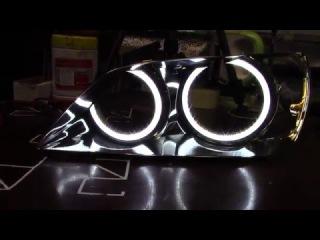 Toyota Altezza LED TTSL Angel Eyes Ангельские глазки Тойота Альтезза TAU tech