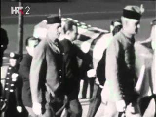 Последний путь Николы Теслы. Nikola Tesla - Sahrana-Funeral (Tamo Daleko 1943)