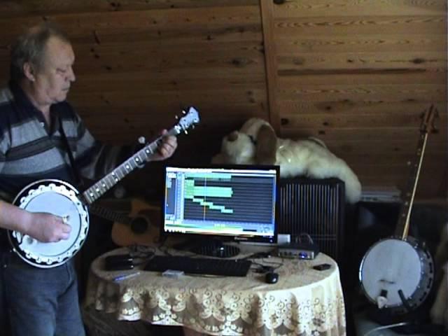 Bluegrass Banjo solo phantom of the opera