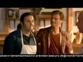 Kıvanç Tatlıtuğ & İlker Ayrık Akbank Reklamı