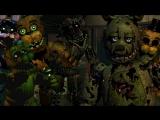 Самые Смешные Моменты Летсплейщиков в Five Nights at Freddy's 3