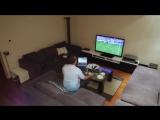Жена жестко разыграла мужа, который захотел досмотреть футбольный матч
