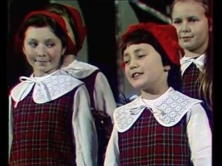 Большой детский хор − Песенка Красной Шапочки
