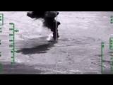 Авиаудар по объектам добычи, хранения и переработки нефти в провинции Дэйр-эз-Зор. Сирия.
