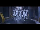 Танец имперских штурмовиков. Прикол! Имперские шутрмовики танцуют тверк. Звездные войны