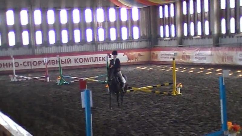 Даня на Пене конкур до 40 см КСК Уралец