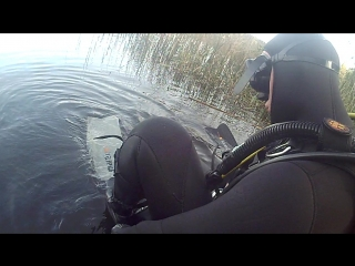 первое погружение с аквалангом!