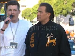 Стивен Сигал на премьере фильма