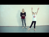 SLs Танцы Онлайн с Кристиной Мацкевич. Как научиться делать колесо без рук (аэриал)