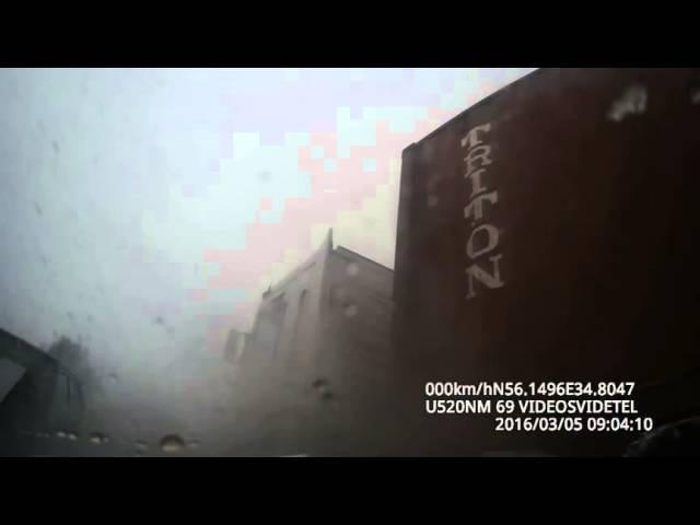 2016 В Зубцовском районе иномарка, вылетевшая на встречку, спровоцировала ДТП