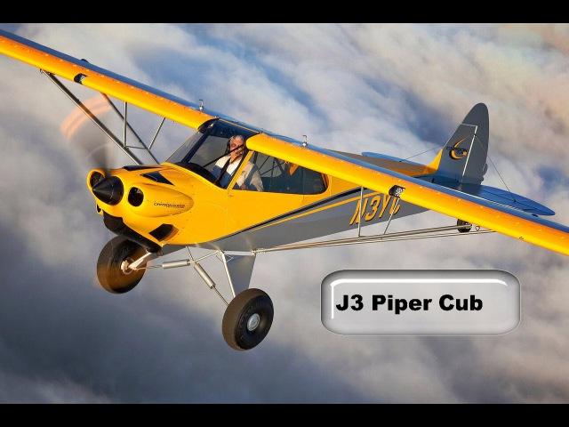 Piper Cub J 3 чертежи большой модели 50