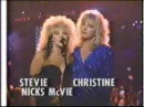 Stevie Nicks Christine McVie at the 1987 MTV VMA's