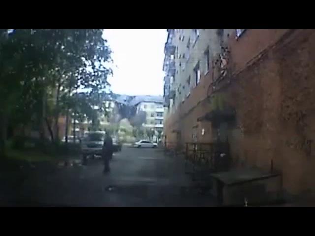 Момент обрушения дома в Междуреченске попал на видео - видео ролик смотреть на Video.Sibnet.Ru