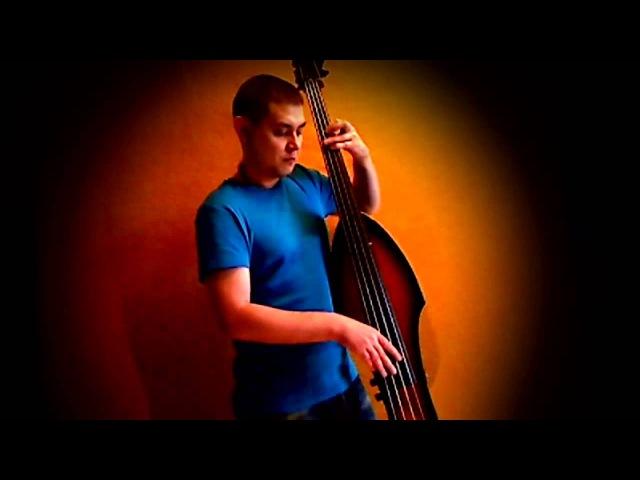 Apres la Pluie (Alain Caron) cover Double bass (palatino)