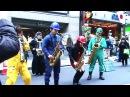 「GALAXY EXPRESS 999」(Street Jazz Sax Ensemble)HIBI★Chazz-Kin SHIBUYA