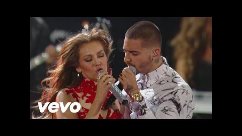 Thalía - Desde Esa Noche (Premio Lo Nuestro 2016) ft. Maluma