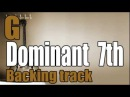 G7 Dominant jazz backing track | piano,bass & drums