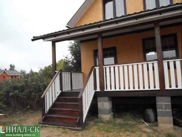 Обзор дома по канадской технологии строительства в д. Баранцево