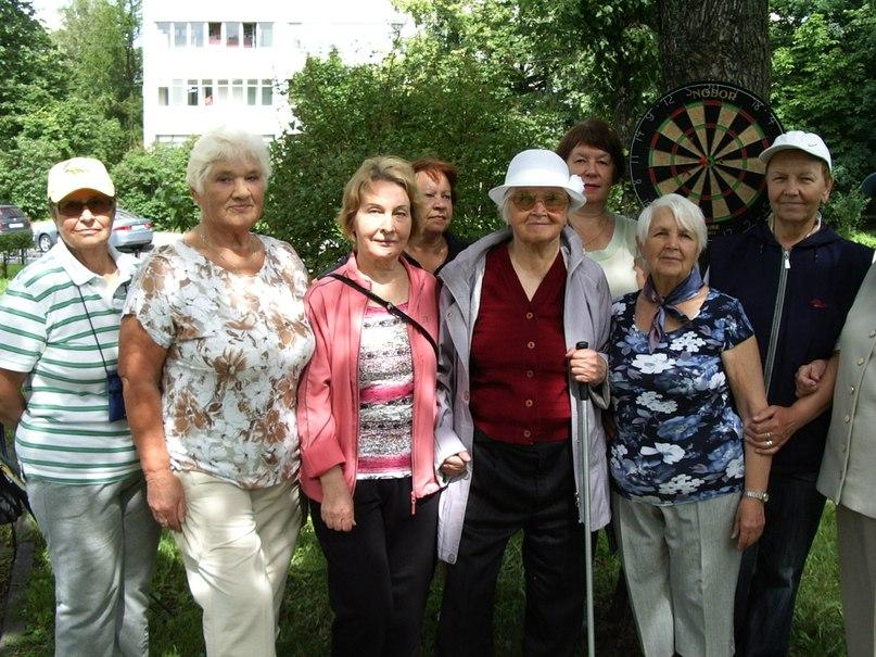 Дартс. Пенсионеры