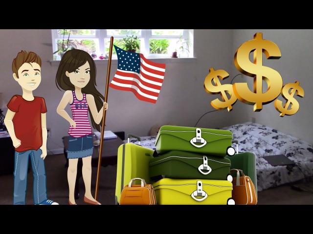 Иммиграция в США - жильё на первое время, наша первая квартира в Америке