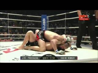 Вадим Немков vs. Иржи Прохазка 2015 RIZIN FF Day 2