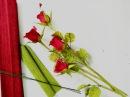 D I Y How to make real paper flower Roses Làm hoa hồng bằng giấy nhún