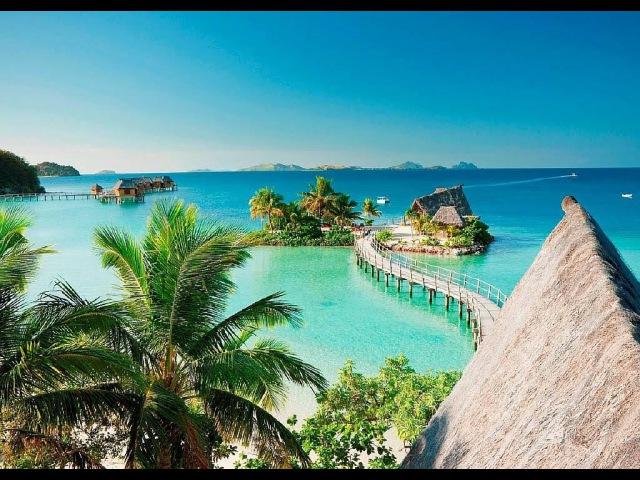 Фиджи Острова мечты рожденные вулканами Сердце Дикой Полинезии