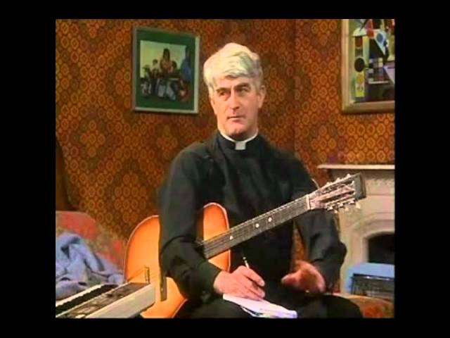 Father Ted - Practicing A Song For Europe