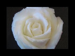 Cách tỉa hoa Hồng từ Xà phòng-Carving Soap Rose-Rose schnitzen aus Seife