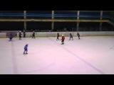 хоккей с шайбой в л д Союз 15августа2015 (детский хоккей)