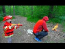 Пожарный Даник и Пожарная Машина BRUDER SCANIA 35990 Тушим лесной пожар