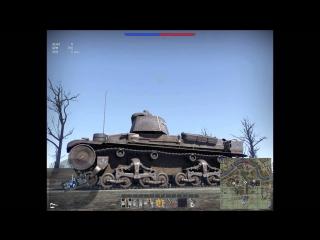 Баг в War Thunder Танк PzKpfw 35t