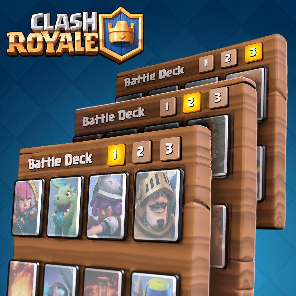 Колоды в Clash Royale
