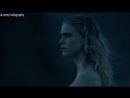 Гайя Уайсс (Gaia Weiss) голая в сериале Викинги (Vikings, 2014) - Сезон 2 / Серия 9 (s02e09) - без цензуры