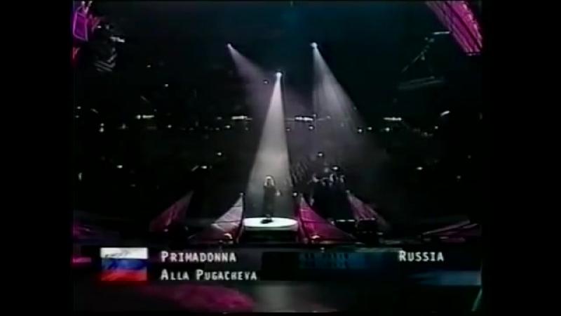 1997.Алла Пугачеёва репетирует песню Примадонна
