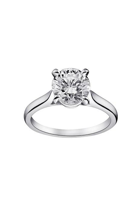 idnEZvKIdag - Обручальные кольца с бриллиантами круглой огранки (60 фото)