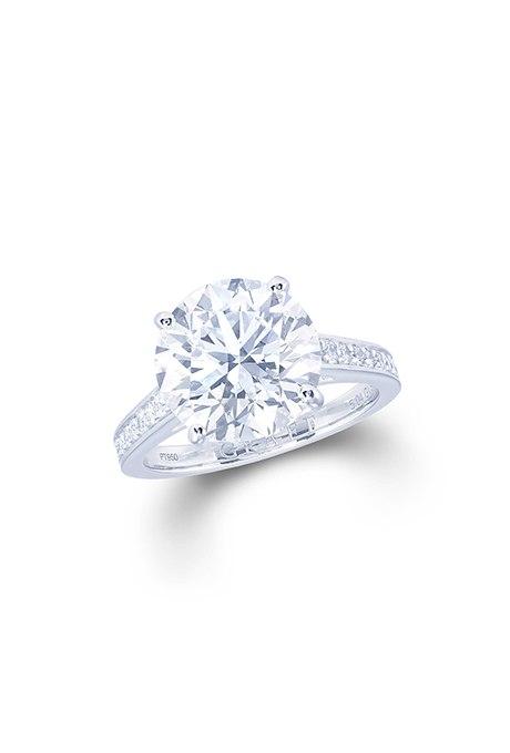 UfagIsqVy8s - Обручальные кольца с бриллиантами круглой огранки (60 фото)