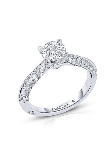S2zqYSoWGf8 - Обручальные кольца с бриллиантами круглой огранки (60 фото)