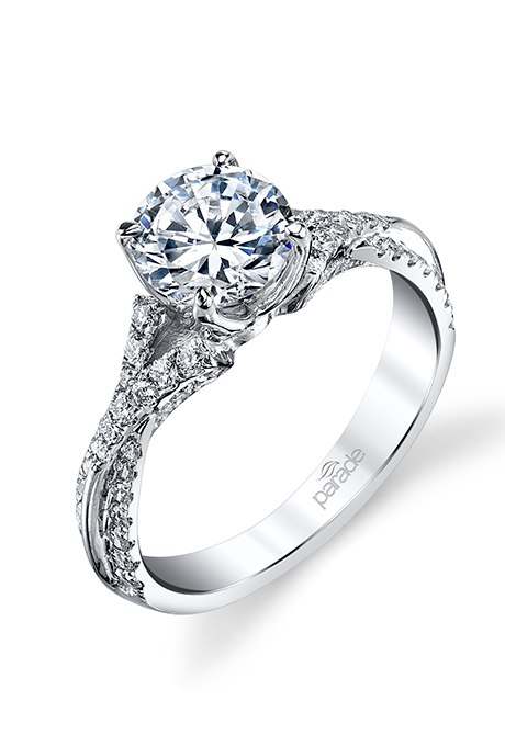 RoqPVpI7HSs - Обручальные кольца с бриллиантами круглой огранки (60 фото)