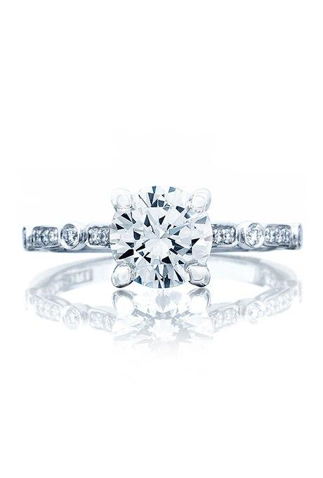 oOEFoQsQPxY - Обручальные кольца с бриллиантами круглой огранки (60 фото)