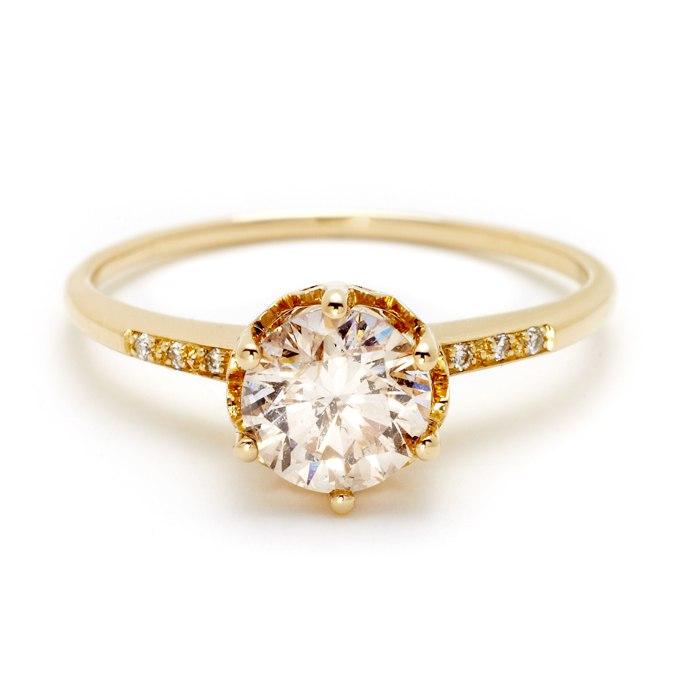 sNyLi ZiHqo - Обручальные кольца с бриллиантами круглой огранки (60 фото)